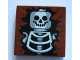 Part No: 3068bpb0087  Name: Tile 2 x 2 with Skeleton Skull and Torso Pattern
