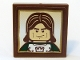 Part No: 3068bpb0182  Name: Tile 2 x 2 with Castle Soldier Portrait Pattern (Sticker) - Set 10193