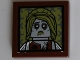 Part No: 3068bpb0599  Name: Tile 2 x 2 with Groove with Zombie Bride Portrait Pattern (Sticker) - Set 10228