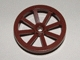 Part No: 4489  Name: Wheel Wagon Large 33mm D. - (Undetermined Hole Type Version)