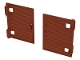 Part No: 60800a  Name: Window 1 x 2 x 3 Shutter with Hinges and Handle