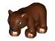 Part No: bearcubc01pb01  Name: Duplo Bear Cub Second Version