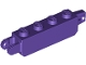 Part No: 30387  Name: Hinge Brick 1 x 4 Locking with 1 Finger Vertical End and 2 Fingers Vertical End