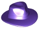 Part No: 61506  Name: Minifigure, Headgear Hat, Wide Brim Outback Style (Fedora)