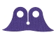 Part No: 88686  Name: Minifigure, Cape Cloth, Pointed Collar