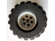 Part No: 2996c01  Name: Wheel 68.8 x 40 Balloon Large, with Black Tire 68.8 x 40 Balloon Large (2996 / 2995)