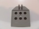 Part No: 30625  Name: Hinge Panel 1 x 4 x 3 2/3 with 6 holes, 2 studs on top, Locking 2 Fingers