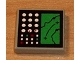 Part No: 3068bpb0028  Name: Tile 2 x 2 with Electronic Terrain Display Pattern (Sticker) - Set 8839