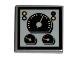 Part No: 3068bpb0204  Name: Tile 2 x 2 with Speedometer & Gauges Pattern (Sticker) - Set 8280