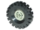 Part No: 3482c03  Name: Wheel with Split Axle Hole with Black Tire 17 x 43 (3482 / 3634)