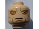 Part No: 3626bpb0551  Name: Minifig, Head Alien with SW Saesee Tiin, Large Eyes and Cheek Lines Pattern - Blocked Open Stud