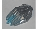 Part No: 24166pb02  Name: Bionicle Crystal Armor with Marbled Trans-Light Blue Pattern