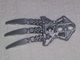 Part No: x1951  Name: Bionicle Claw with 2 Pin Holes