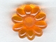 Part No: clikits004u  Name: Clikits Icon, Flower 10 Petals 2 x 2 Small with Pin - (Undetermined Version)