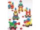 Set No: 1040  Name: Universal Building Set - Nursery School Through Kindergarten (Universal Set for boys and girls from 1 1/2 years)