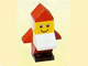 Set No: 1298  Name: Advent Calendar 1998, Classic Basic (Day 21) Red Elf