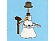 Set No: 2824  Name: Advent Calendar 2010, City (Day  1) Snowman with Push Broom