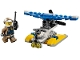 Set No: 30359  Name: Police Water Plane polybag
