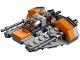 Set No: 30384  Name: Snowspeeder - Mini polybag