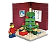 Set No: 3300020  Name: Christmas Tree Scene (Limited Edition 2011 Holiday Set (1 of 2))