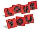Set No: 40016  Name: Valentine Letter Set polybag