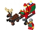 Set No: 40059  Name: Santa Sleigh polybag