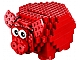 Set No: 40155  Name: Coin Bank, Red Piggy Bank