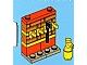 Set No: 4428  Name: Advent Calendar 2012, City (Day  5) Wall with Fireman Equipment