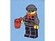 Set No: 60024  Name: Advent Calendar 2013, City (Day  6) Burglar with Cup