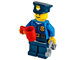 Set No: 60063  Name: Advent Calendar 2014, City (Day 18) Policeman with Cup and Handcuffs