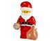 Set No: 60063  Name: Advent Calendar 2014, City (Day 24) Santa with Bag and Cookie