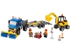 Set No: 60152  Name: Sweeper & Excavator