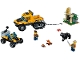 Set No: 60159  Name: Jungle Halftrack Mission