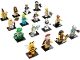 Set No: 71001  Name: Minifigure, Series 10 (Complete Series of 16 Complete Minifigure Sets)