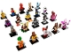 Set No: 71017  Name: Minifigure, The LEGO Batman Movie, Series 1 (Complete Series of 20 Complete Minifigure Sets)