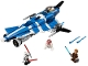 Set No: 75087  Name: Anakin's Custom Jedi Starfighter