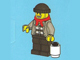 Set No: 7553  Name: Advent Calendar 2011, City (Day  1) Robber with Snowball