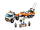 Set No: 7726  Name: Coast Guard Truck with Speed Boat