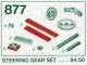 Set No: 877  Name: Steering Gear Parts