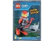 Set No: 951703  Name: Scuba Diver and Shark foil pack