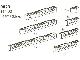 Set No: 9823  Name: Blue Beams with Holes