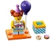 Set No: col18  Name: Birthday Party Girl, Series 18 (Complete Set with Stand and Accessories)
