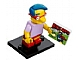 Set No: colsim  Name: Milhouse Van Houten, The Simpsons, Series 1 (Complete Set with Stand and Accessories)