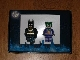 Set No: comcon003  Name: Batman and Joker Minifig Pack - San Diego Comic-Con 2008 Exclusive