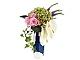 Set No: lfv3  Name: Le Fleuriste Collector Vase - Monceau Fleurs Blue Chic