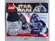Set No: sw218promo  Name: Darth Vader 10 Year Anniversary Promotional Minifigure polybag