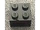 invID: 150986307 P-No: 08010bc02  Name: Electric, Light Brick 12V 2 x 2 with 3 Plug Holes, Trans-Red Diffuser Lens