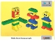 Book No: 9512b01  Name: Set 9512 Activity Card 1 - Arms and Legs UK/AUS Version (4101811)