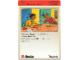 Book No: 9603b89AU  Name: Set 9603 Activity Card Application: Invention 32 - Stretch Power AUS version (118122)
