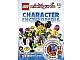 Book No: 9781465401724  Name: Minifigures Character Encyclopedia (9781409324621)